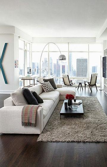 Интерьер в квартире: как создать «квартиру с обложки журнала»