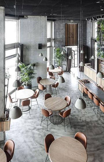 Продуманный дизайн интерьера кафе – залог его успешной работы