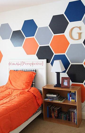 Дизайн-проект детской комнаты для парня, мальчика, подростка