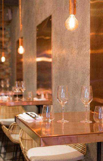 Особенности дизайна интерьера ресторана