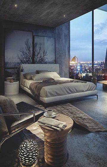 Дизайн интерьера спальни: 5 советов для экономии пространства