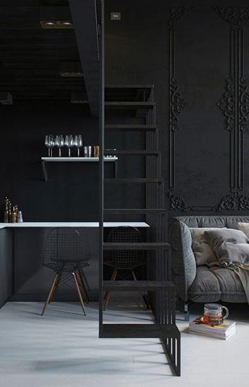 дизайн квартиры студи